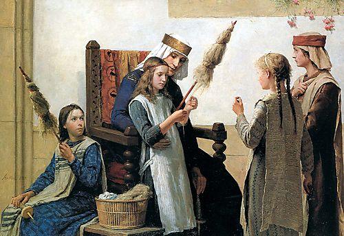 Anker A Reine_Berthe_et_les_fileueses 1888