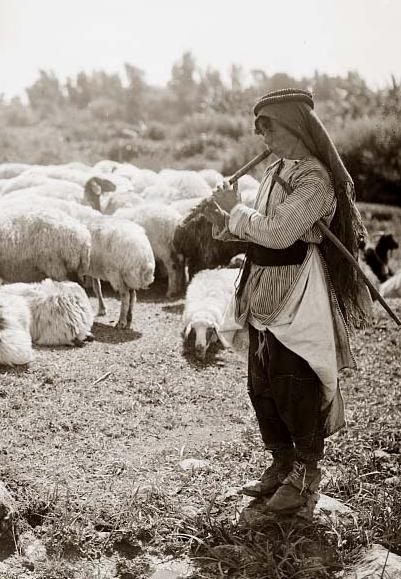 Arab Shepherd Boy Playing Flute 1898 2