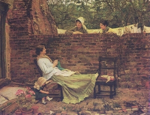 Good_neighbors_1885waterhouse_large