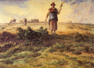 Millet_jean_francois_a_shepherdess_and_h